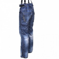 Жіночі сноубордичні штани 10К ENVY Iska Blue Denim