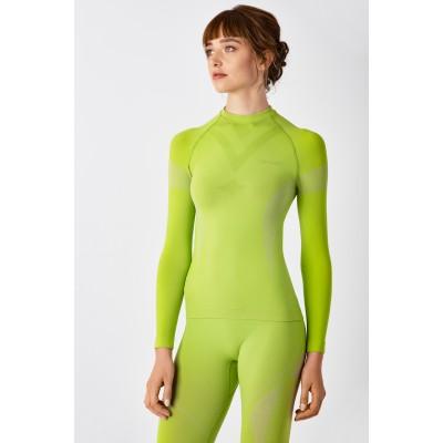 Термореглан жіночий SPAIO Intense Lime