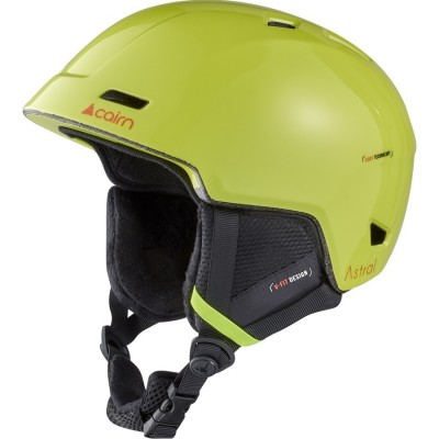 Шолом гірськолижний CAIRN Astral Neon Yellow