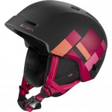 Шолом гірськолижний CAIRN Meteor black/pink