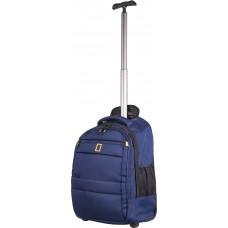 Рюкзак на колесах National Geographic Passage N15402;39 синій