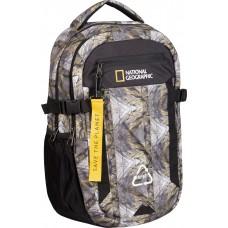 Рюкзак повсякденний з відділенням для ноутбука National Geographic Natural N15780;99RO принт/каміння