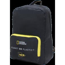 Рюкзак складаний National Geographic Foldable N14403;06 чорний