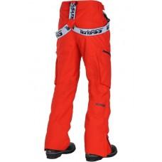 Чоловічі лижні штани 10K REHALL Drain Flame Red