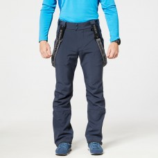 Чоловічі лижні штани Softshell 10K NORTHFINDER Broderick Grey Blue