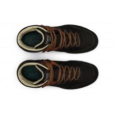 Чоловічі ботинки Grisport 12811 з мембраною чорно-помаранчеві