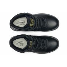Чоловічі ботинки Grisport 10073 з мембраною чорні