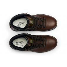 Чоловічі ботинки Grisport 10073 з мембраною коричневі