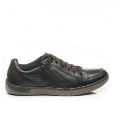 Чоловічі  шкіряні кросівки Pegada 517408-05 Black (до 50 розміру)