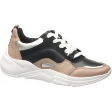 Жіночі шкіряні кросівки Pegada 218805-09 пудрові