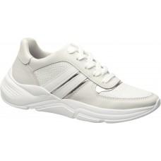 Жіночі шкіряні кросівки Pegada 218806-01 білі