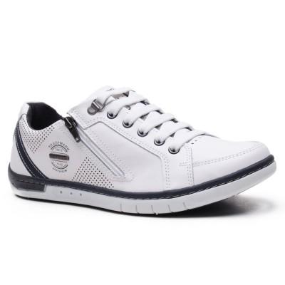 Чоловічі  шкіряні кросівки Pegada 117408-01 Cinza