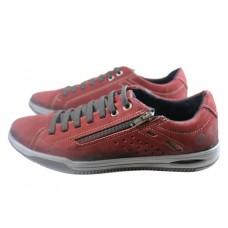 Чоловічі  шкіряні кросівки Pegada 116901-07 Red