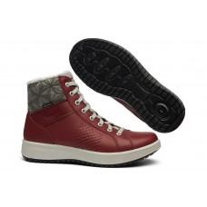 Жіночі ботинки Grisport 43607 з мембраною червоні