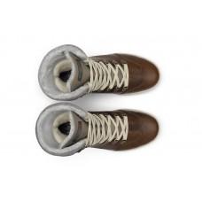 Жіночі чоботи Grisport 43609 з мембраною коричневі