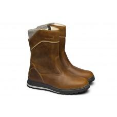 Жіночі чоботи Grisport 43709 з мембраною коричневі