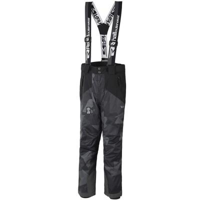 Дитячі лижні брюки 10К REHALL Dragg-Jr Camo Black