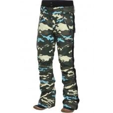 Жіночі лижні штани 10К REHALL Fall Camo Olive
