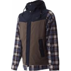 Чоловіча сноубордична куртка 10K Rehall Lars Dusky Green Checks