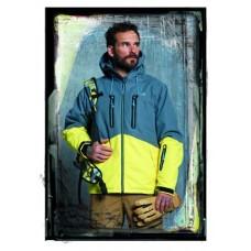Чоловіча сноубордична куртка 10K Rehall Rage Storm Grey