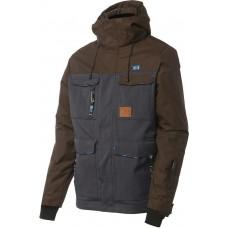 Чоловіча сноубордична куртка 10K Rehall Parker Dark Brown