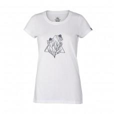 Жіноча футболка Northfinder Milan TR-4537OR White