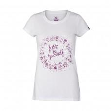 Жіноча футболка Northfinder Kyndal TR-4538OR White