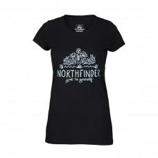 Жіноча футболка Northfinder Mara TR-4540OR Black