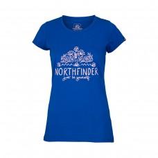 Жіноча футболка Northfinder Mara TR-4540OR Blue