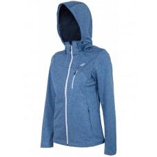 Вітрівка жіноча Softshell 4F H4L17-SFD003 Blue