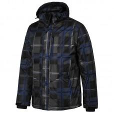 Чоловіча лижна куртка 5К WILLARD Ondra Grey/Blue