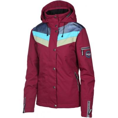 Жіноча лижна куртка 10K Rehall Fray Bungee Red