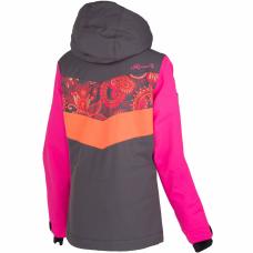 Дитяча лижна куртка 10К REHALL Hester-Jr Flowers Orange
