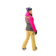 Жіноча лижна куртка 10K Rehall Bellah Dotstripes Magnet