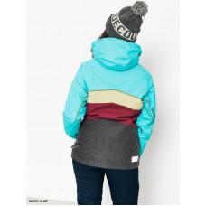 Жіноча сноубордична куртка 10K Rehall Spear Blue Curasao
