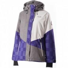 Жіноча сноубордична куртка 10K Rehall Candy Purple Magic Check