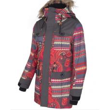 Жіноча сноубордична куртка 10K Rehall Merril Flowers Orange