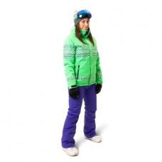 Жіноча лижна куртка 10K Rehall Ceryl Poison Green