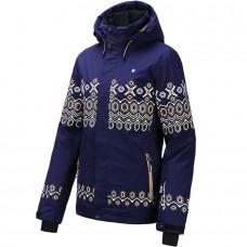 Жіноча лижна куртка 10K Rehall Ceryl Evening Blue