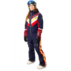 Жіночий сноубордичний комбінезон Rehall Marlise Evening Blue