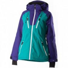 Жіноча лижна куртка 10K Rehall Ushi Deap Peacock