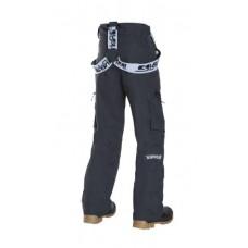 Дитячі лижні брюки 10К REHALL Drain-Jr Graphite