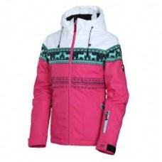 Дитяча лижна куртка 10К REHALL Deer-Jr Pink