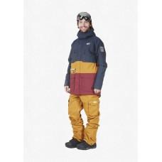 Чоловіча сноубордична куртка 10K PICTURE Pure D. Blue Camel