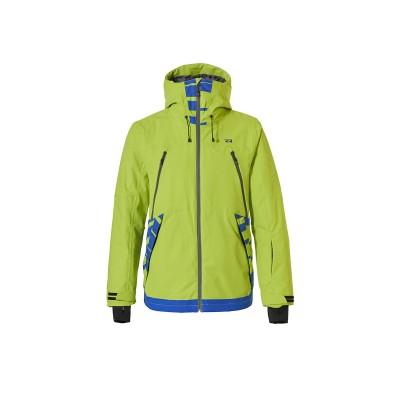 Чоловіча лижна куртка 10K Rehall Wing Lime