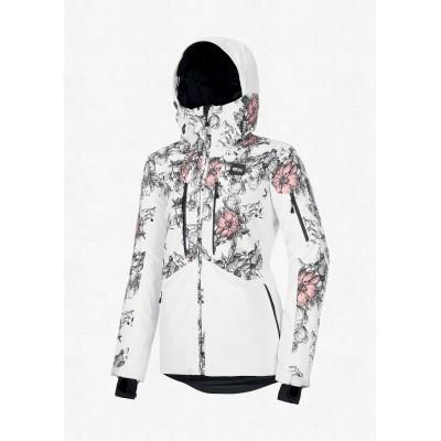 Жіноча лижна куртка 20K PICTURE Exa White