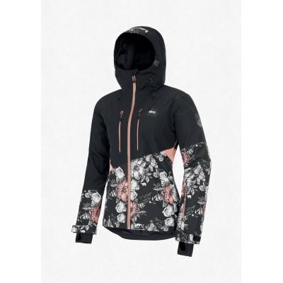 Жіноча лижна куртка 20K PICTURE Seen Black