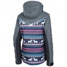 Дитяча лижна куртка 10К REHALL Curve-Jr Shachet pink