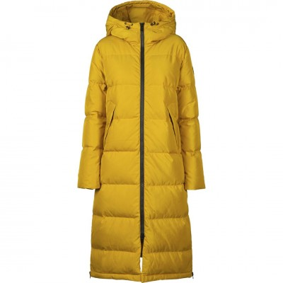 Жіноче пальто-пуховик 8848 Altitude Biela Mustard