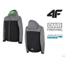 Дитяча лижна куртка 5К 4F 4f t4z16-jkumn003 Black/Grey